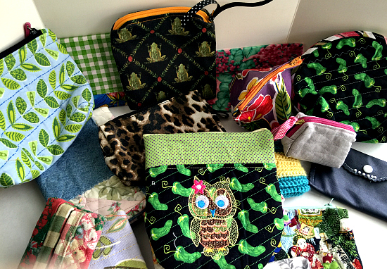 handmade cosmetic bags donate cosmetics to women in need
